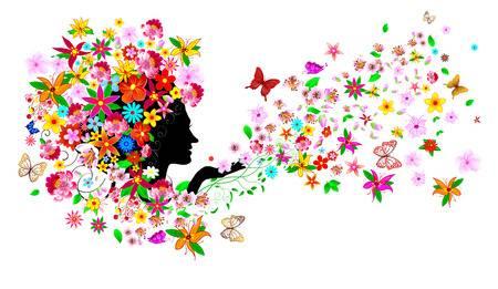 92833987-silueta-de-la-cara-de-una-mujer-entre-flores-y-mariposas-niña-con-flores-y-mariposas-una-niña-con-flores-y