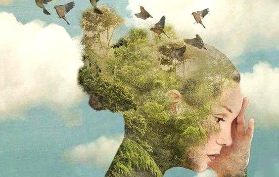 mujer-con-pájaros-que-escapan-de-su-cabeza