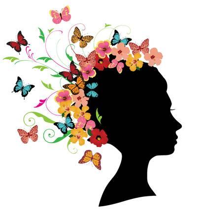 80425548-ilustração-em-vetor-de-silhueta-cabeça-menina-com-cabelos-florais-redemoinhos-flores-borboletas-