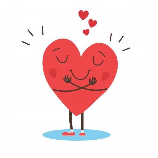 abrazando-vector-corazon-abrazate-ti-mismo-amate-ti-mismo_1212-1193